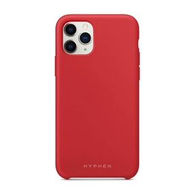 Hyphen Silicone Case for iPhone 11 Pro - Red