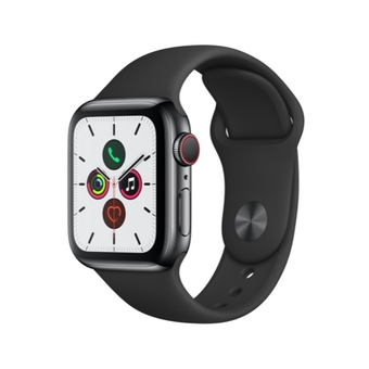 Apple Watch Series 5 Stainless Steel Case with Sport Band