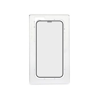 TORRII iPhone 12/12 Pro Bodyglass 3D Screen Protector Black/Clear